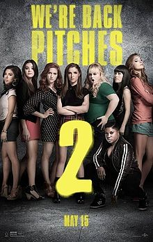 Pitch Perfect 2   (2015) dir. Elizabeth Banks Rated: PG-13 image:  ©2015  Universal Pictures