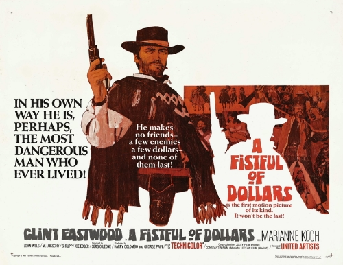 A Fistful of Dollars   (1967) dir. Sergio Leone Rated: R image: ©1967  United Artists