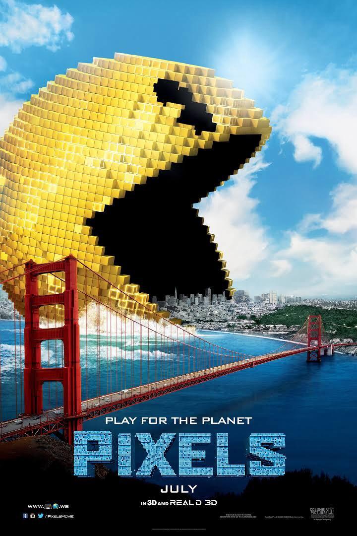 Pixels  (2015) dir. Chris Columbus Rated: PG-13 image: ©2015  Columbia Pictures