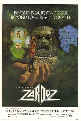 Zardoz  (1974) dir. John Boorman Rated: R image: ©1974  20th Century Fox