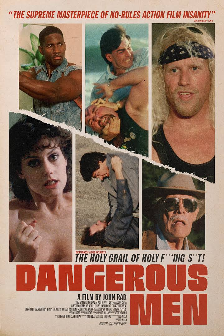 Dangerous Men   (2005/2015) dir. John S. Rad Rated: Not Rated by the MPAA image: ©2015  Drafthouse Films