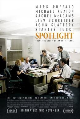 Spotlight   (2015) dir. Tom McCarthy Rated: R image:©2015  Open Road Films