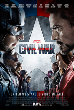 Captain America: Civil War   (2016) dir. Anthony & Joe Russo Rated: PG-13 image:©2016  Marvel Studios