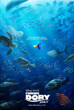 Finding Dory  (2016) dir. Andrew Stanton &  Angus MacLane  Rated: PG image: ©2016  Disney-Pixar