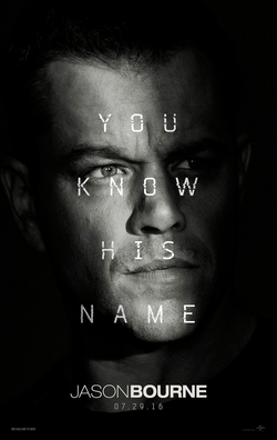 Jason Bourne   (2016) dir. Paul Greengrass Rated: PG-13 image: ©2016  Universal Pictures