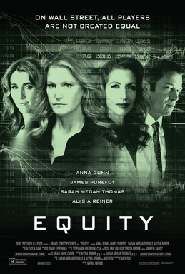 Equity   (2016) dir. Meera Menon Rated: R image: ©2016  Sony Pictures Classics