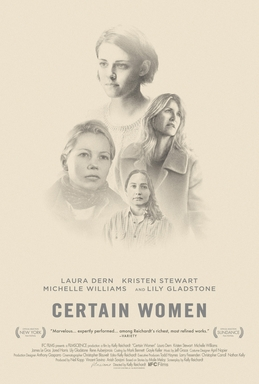 Certain Women   (2016) dir. Kelly Reichardt Rated: R image: ©2016  IFC Films