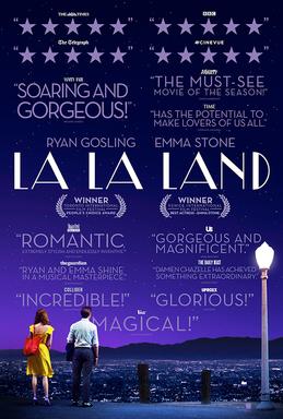 La La Land   (2016) dir. Damien Chazelle Rated: PG-13 image:©2016  Summit Entertainment