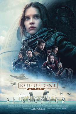 Rogue One: A Star Wars Story   (2016) dir. Gareth Edwards Rated: PG-13  image:©2016  Walt Disney Studios Motion Pictures