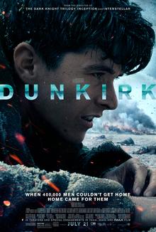 Dunkirk   (2017) dir. Christopher Nolan Rated: PG-13 image:©2017  Warner Bros. Pictures