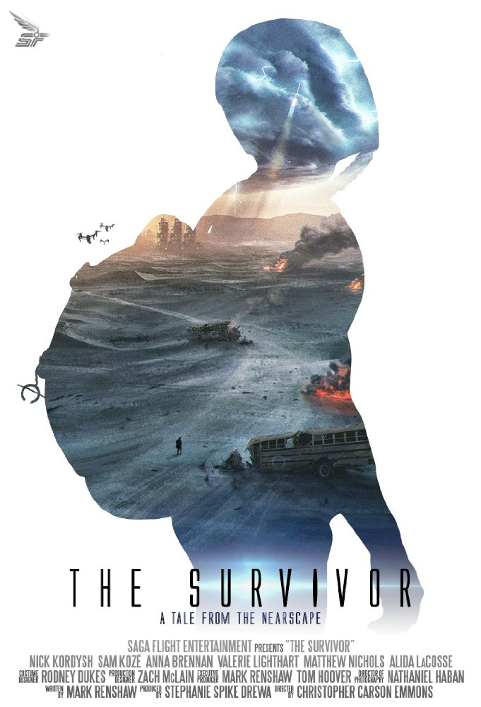 The Survivor: A Tale from the Nearscape   (2017) dir. Christopher Carson Emmons Rated: N/A image:©2017  Saga Flight