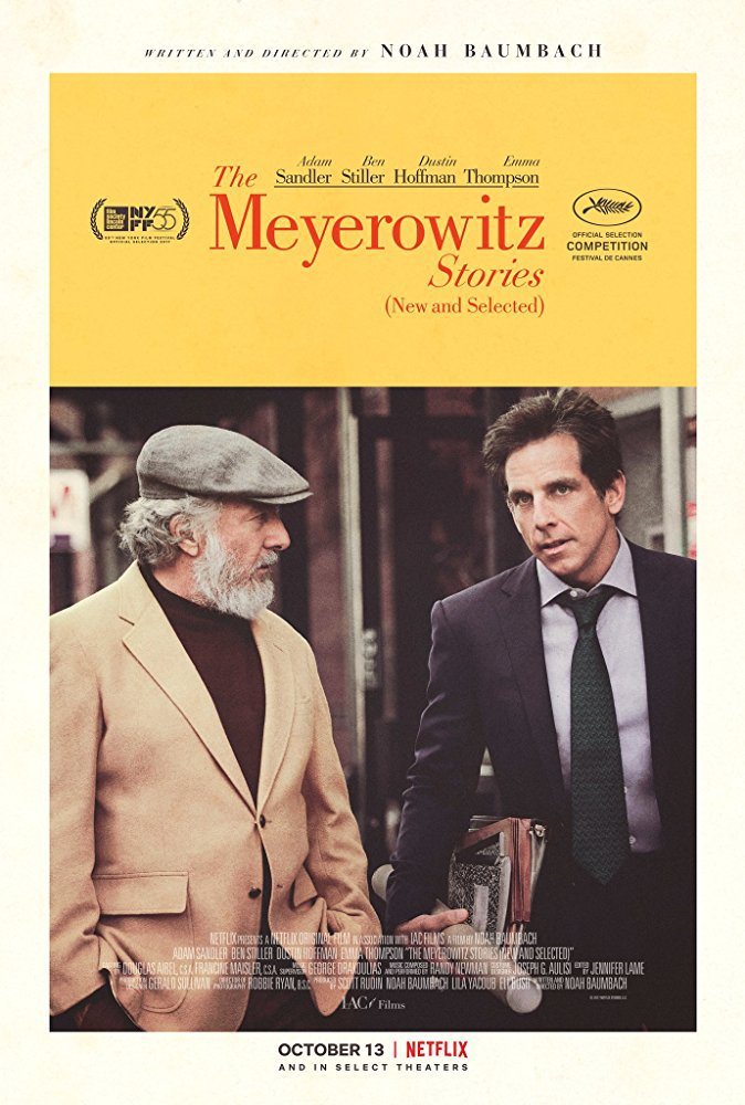 The Meyerowitz Stories (New and Selected)   (2017) dir. Noah Baumbach Rated: N/A image: ©2017  Netflix