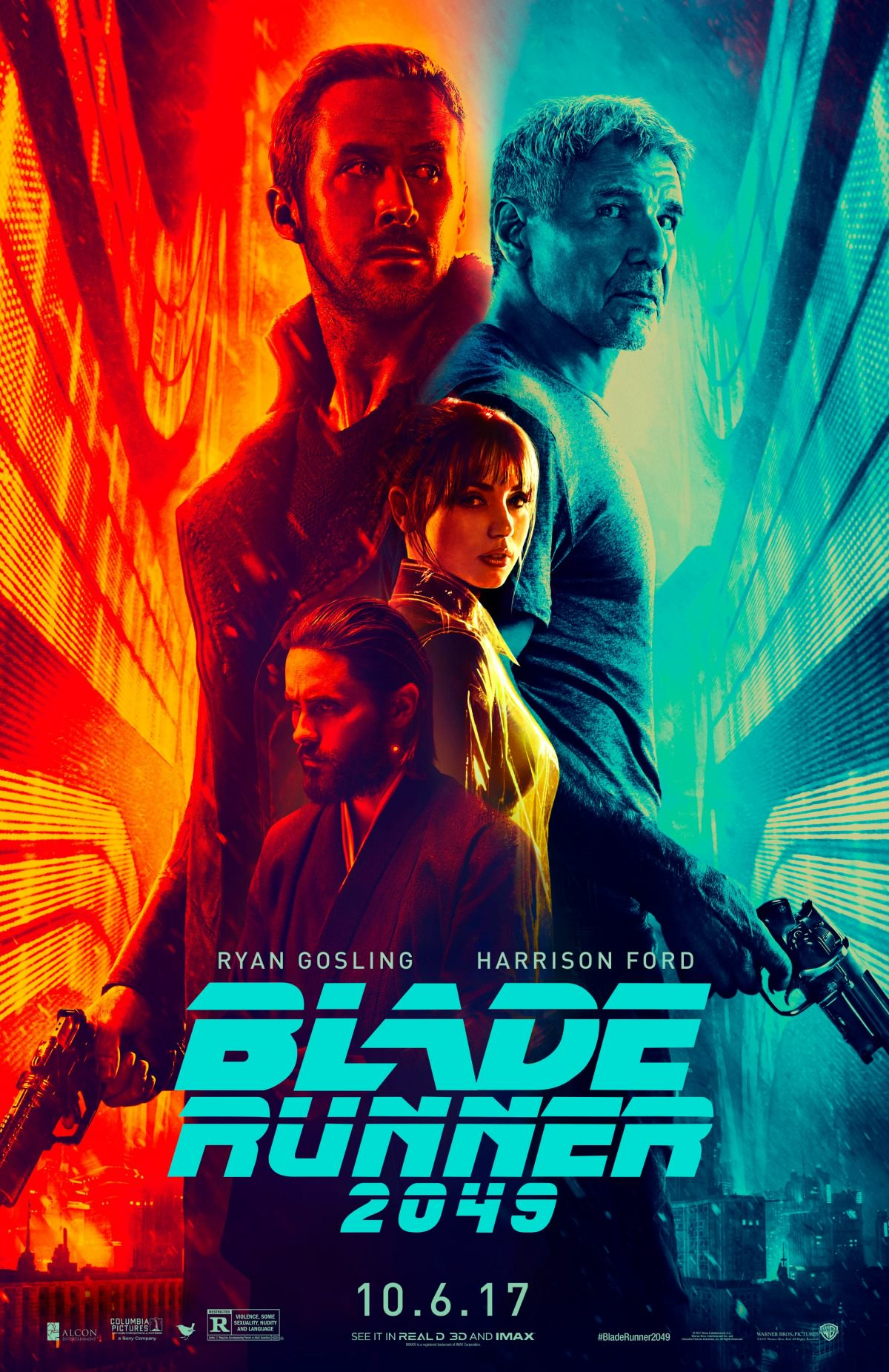 Blade Runner 2049   (2017) dir. Denis Villeneuve Rated: R image: ©2017 Warner Bros. Pictures