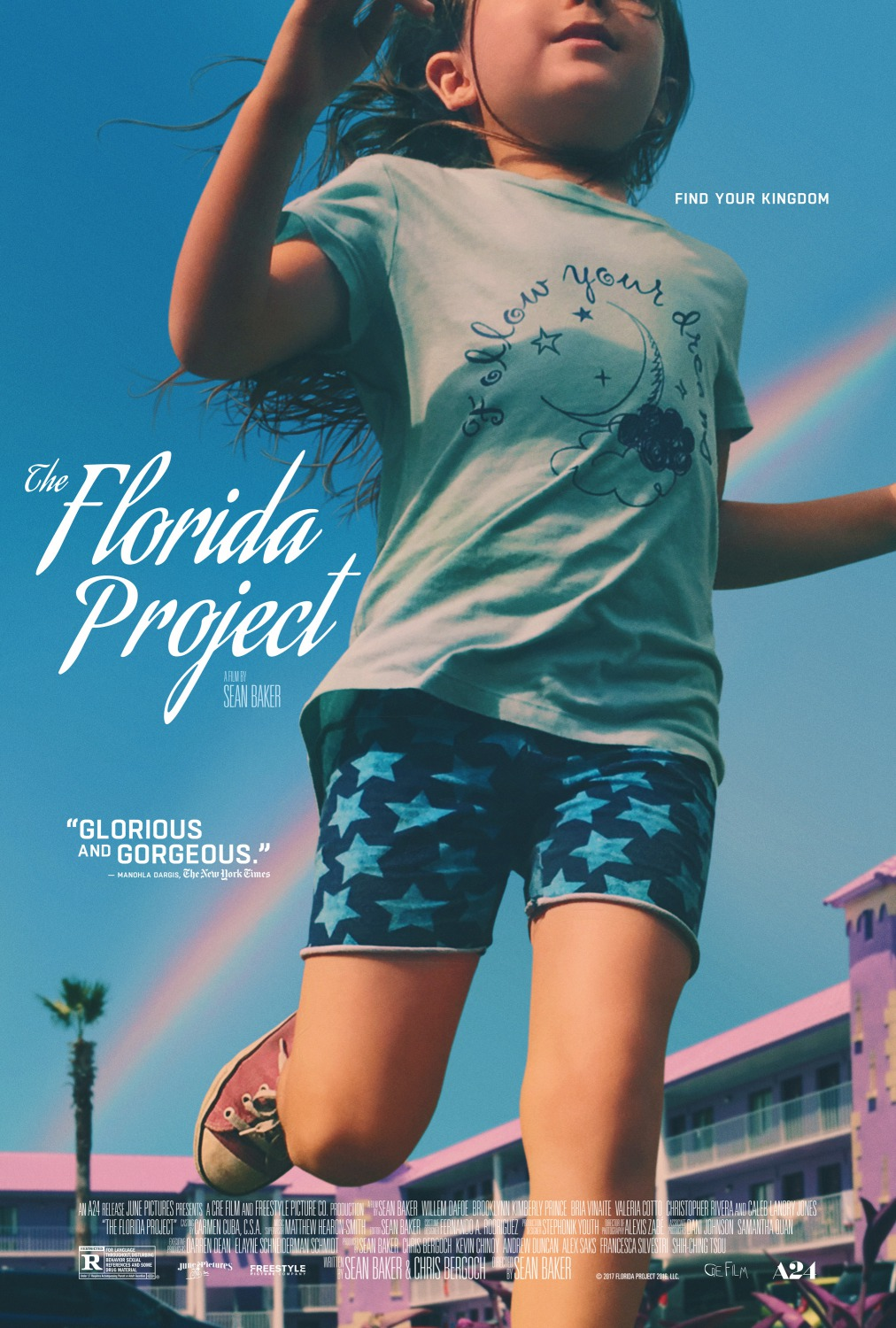 The Florida Project   (2017) dir. Sean Baker Rated: R image:©2017  A24