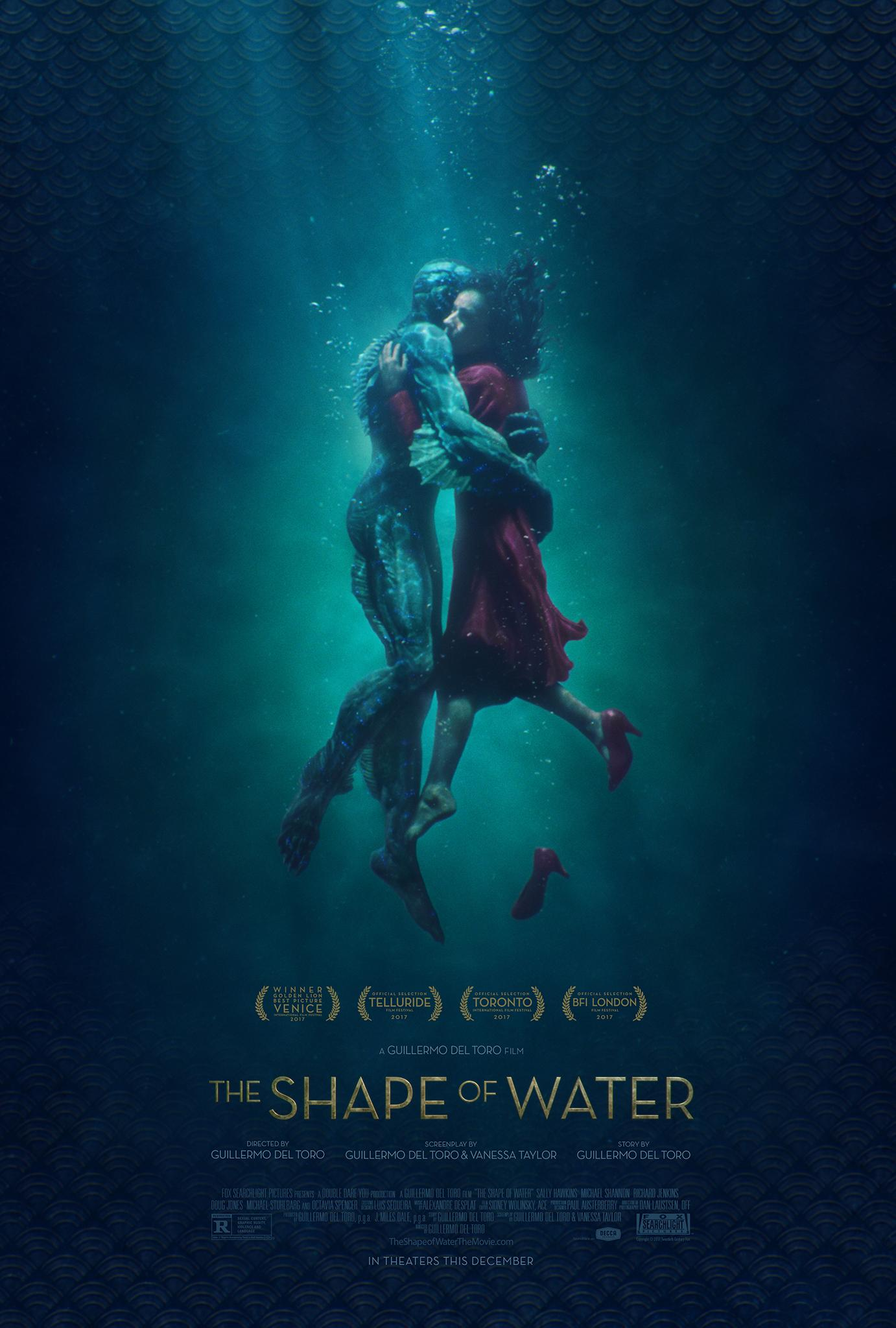 The Shape of Water   (2017) dir. Guillermo del Toro Rated: R image:©2017  Fox Searchlight Pictures