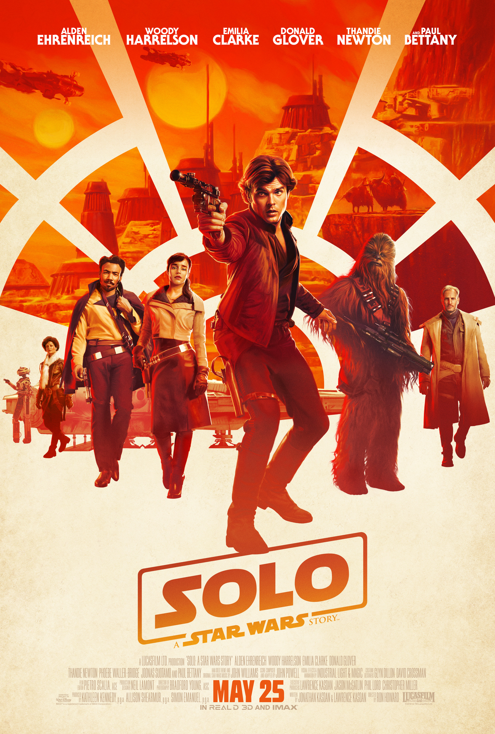 Solo: A Star Wars Story   (2018) dir. Ron Howard Rated: PG-13 image: ©2018  Walt Disney Studios Motion Pictures
