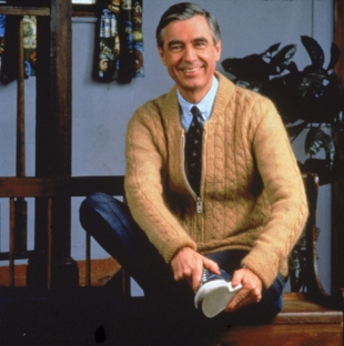 Fotos International/Getty   This is  my  Mr. Rogers
