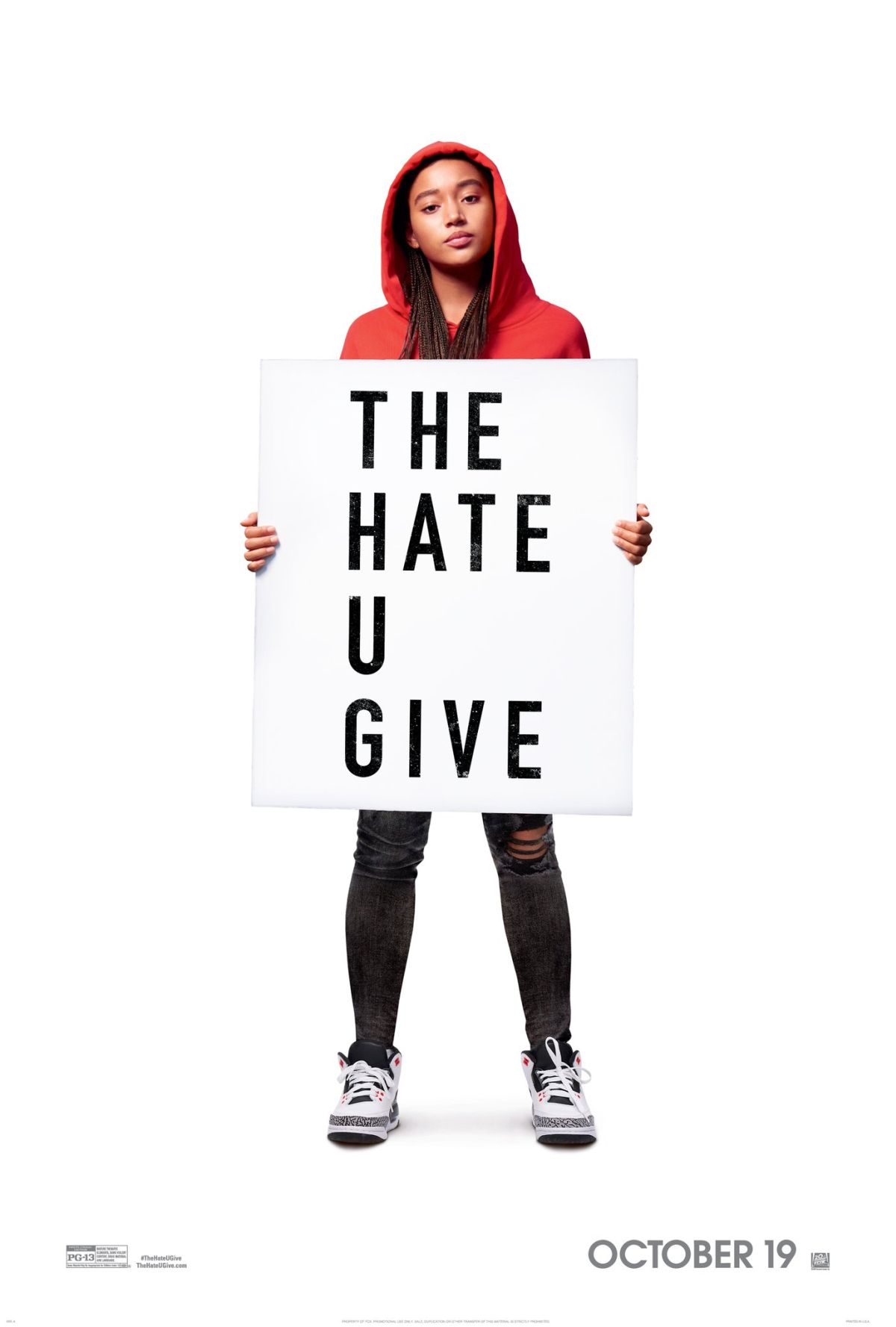 The Hate U Give   (2018) dir. George Tillman, Jr. Rated: PG-13 image: ©2018  20th Century Fox