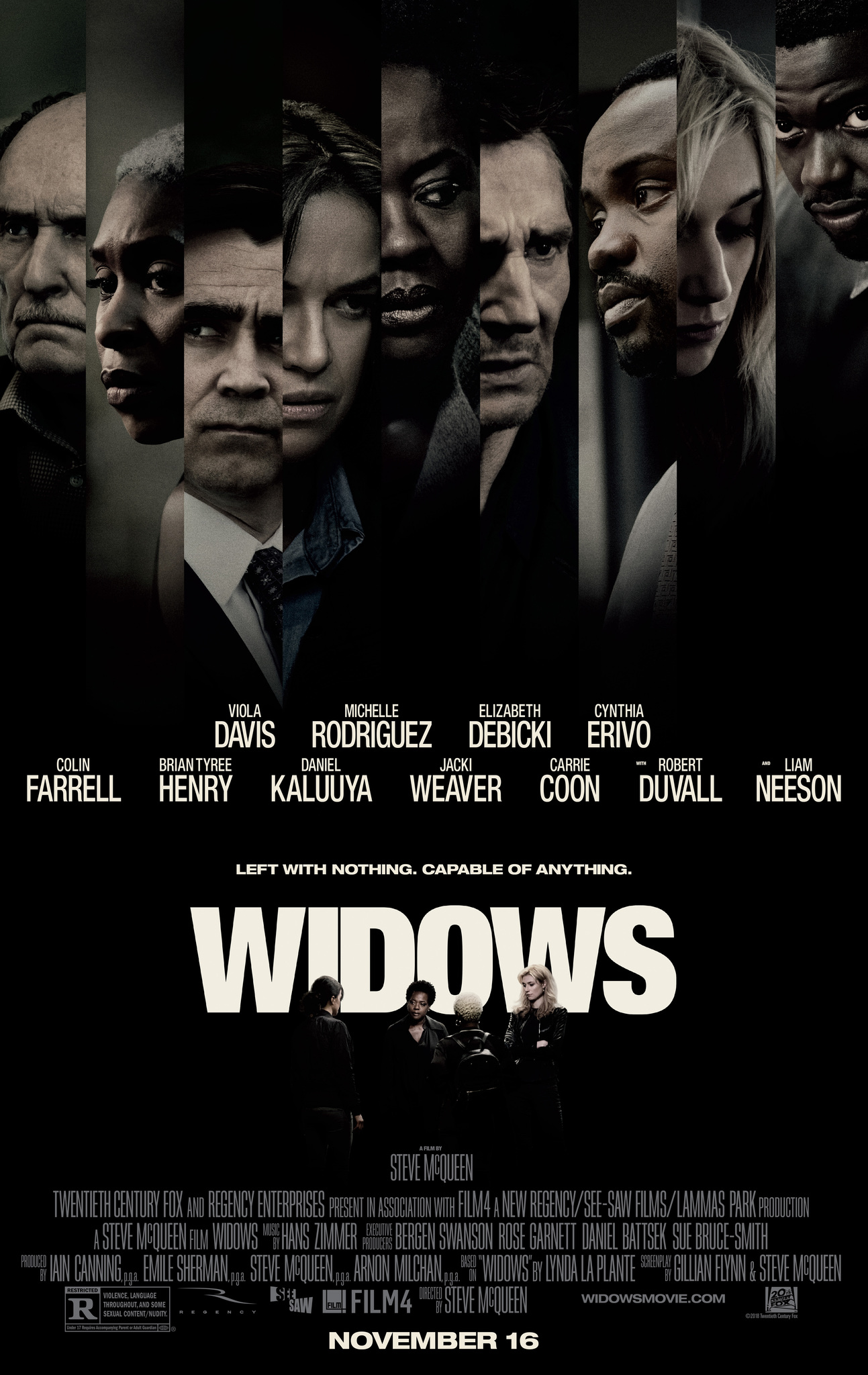 Widows   (2018) dir. Steve McQueen Rated: R image: ©2018  20th Century Fox