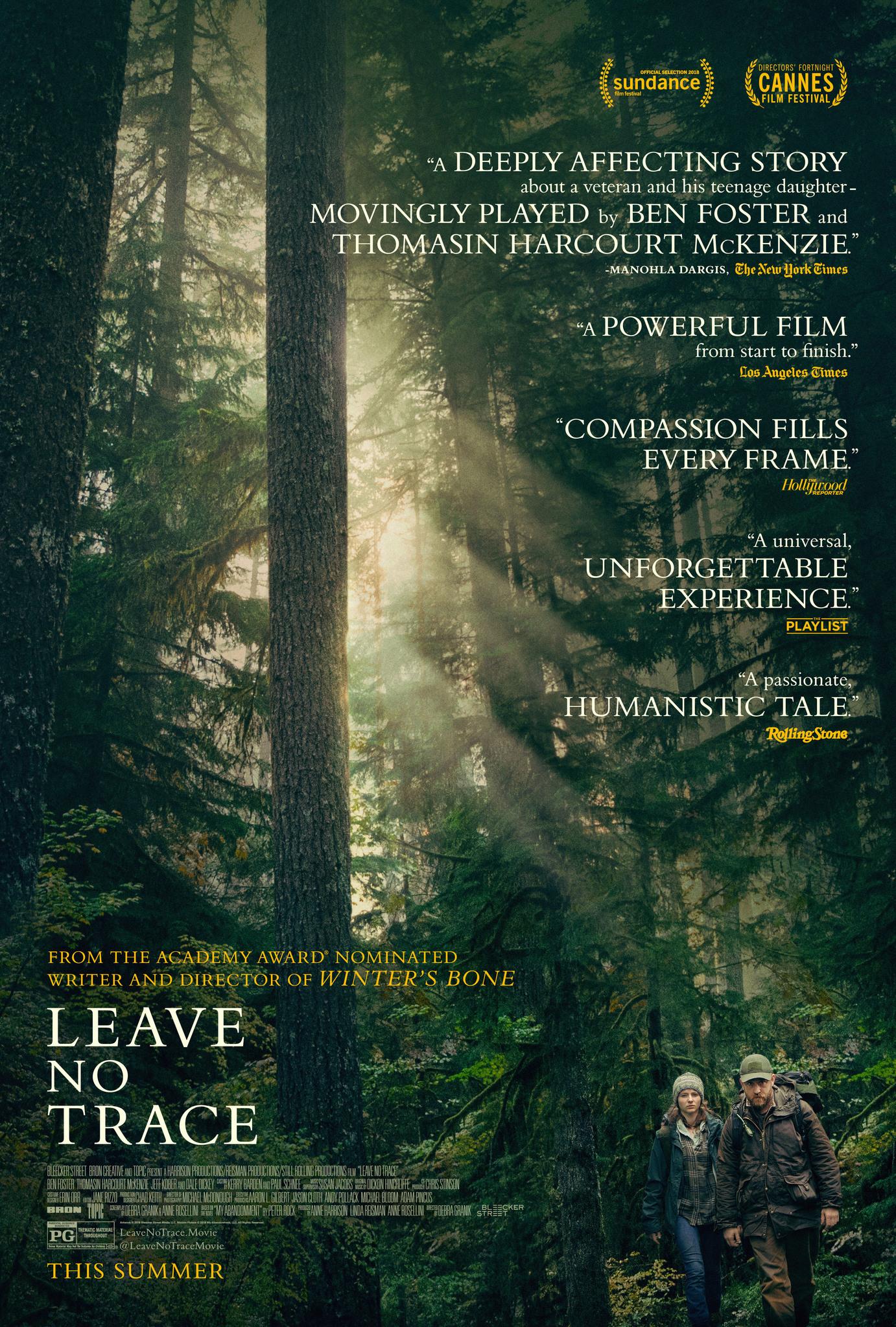 Leave No Trace   (2018) dir. Debra Granik Rated: PG image: ©2018  Bleecker Street