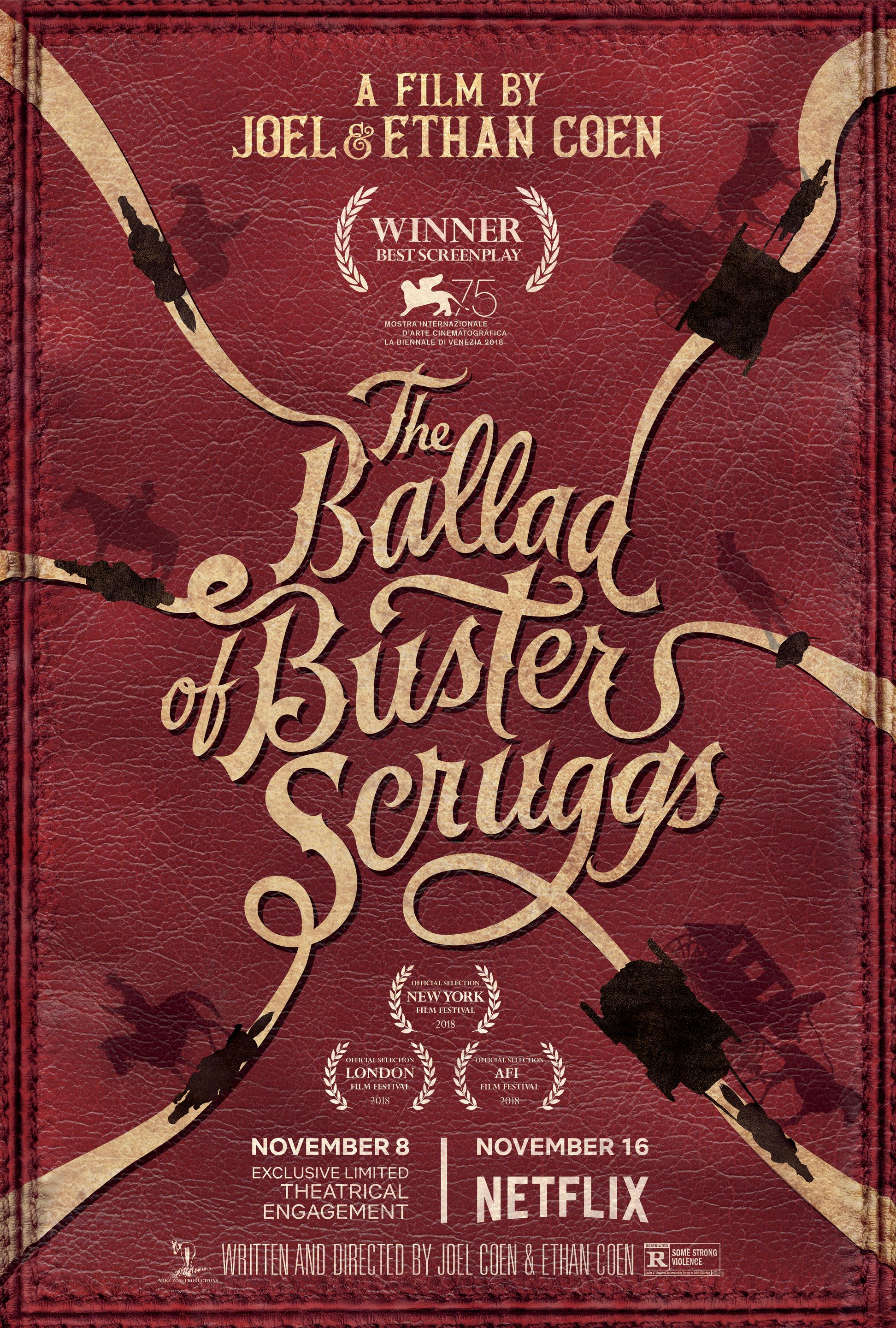 The Ballad of Buster Scruggs   (2018) dir. Joel and Ethan Coen Rated: R image: ©2018  Netflix