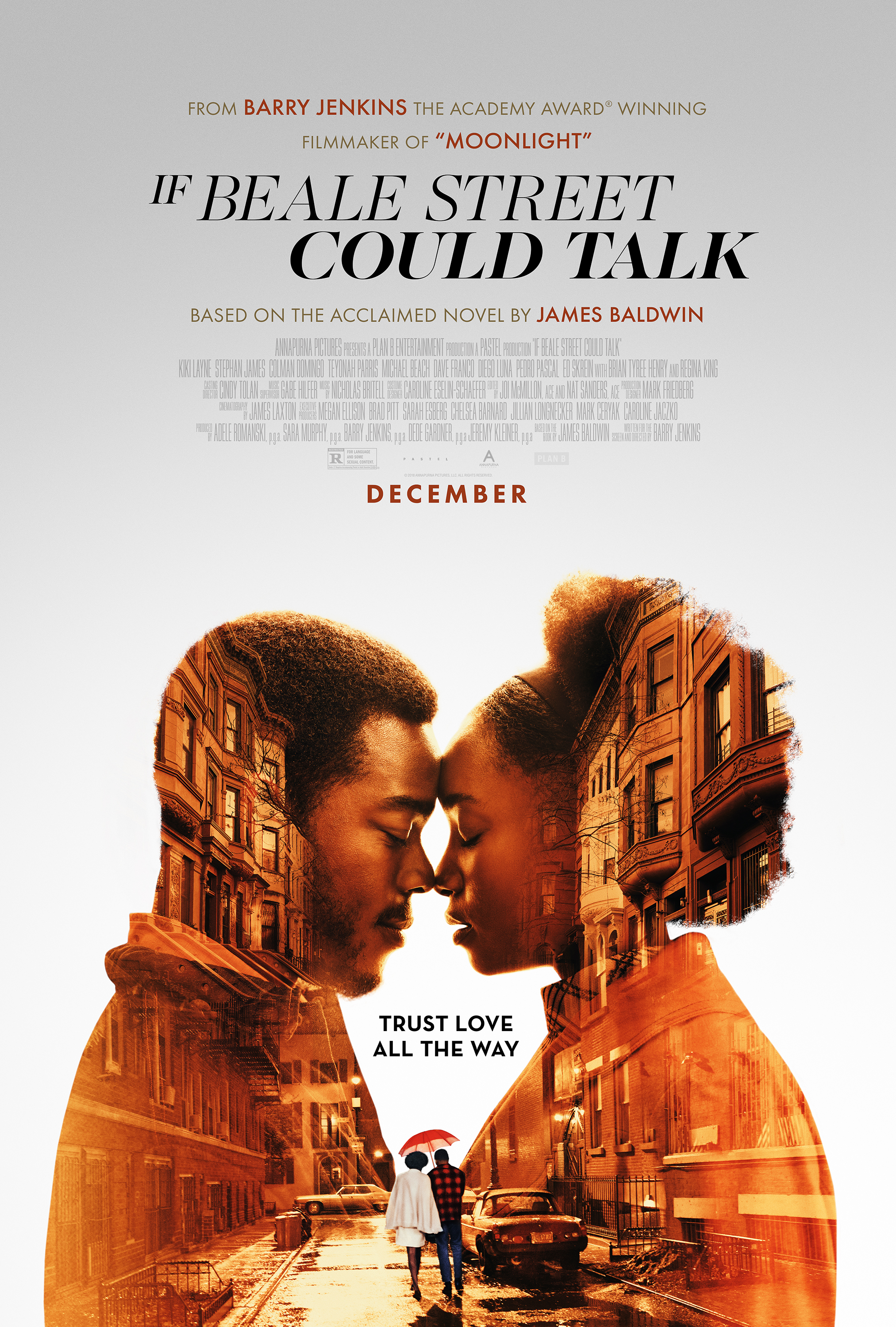 If Beale Street Could Talk   (2018) dir. Barry Jenkins Rated: R image: ©2018  Annapurna Pictures