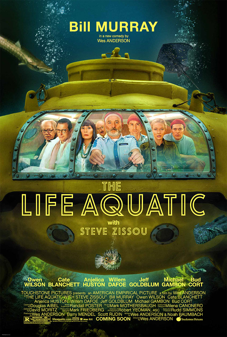 The Life Aquatic with Steve Zissou   (2004) dir. Wes Anderson Rated: R image: ©2004 Buena Vista Pictures