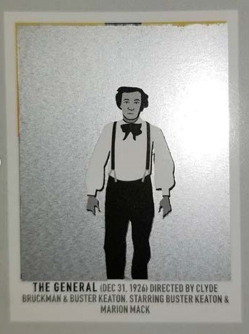 before scratch-off   The General   (1926) dir. Clyde Bruckman & Buster Keaton Rated: N/A image:  Pop Chart Lab