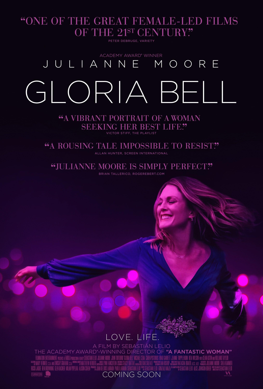 Gloria Bell   (2019) dir. Sebastián Lelio Rated: R image: ©2019 A24
