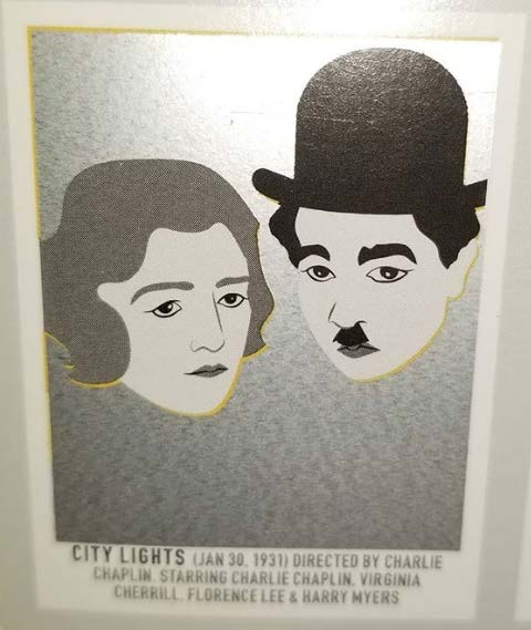 before scratch-off   City Lights   (1931) dir. Charlie Chaplin Rated: N/A image:  Pop Chart Lab