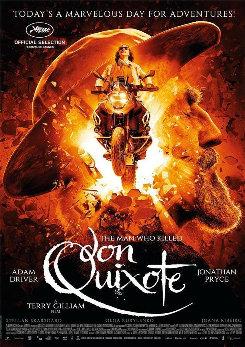 The Man Who Killed Don Quixote   (2019) dir. Terry Gilliam Rated: N/A