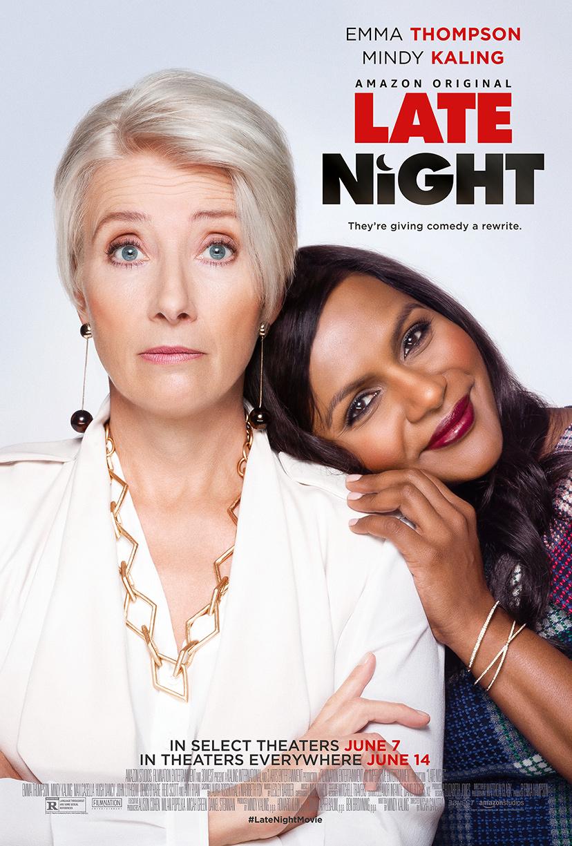 Late Night   (2019) dir. Nisha Ganatra Rated: R image: ©2019  Amazon Studios