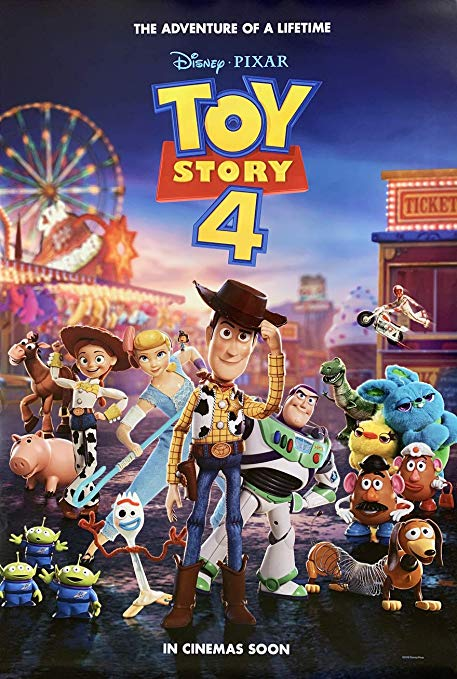 Toy Story 4   (2019) dir. Josh Cooley Rated: G image: ©2019  Walt Disney Studios Motion Pictures