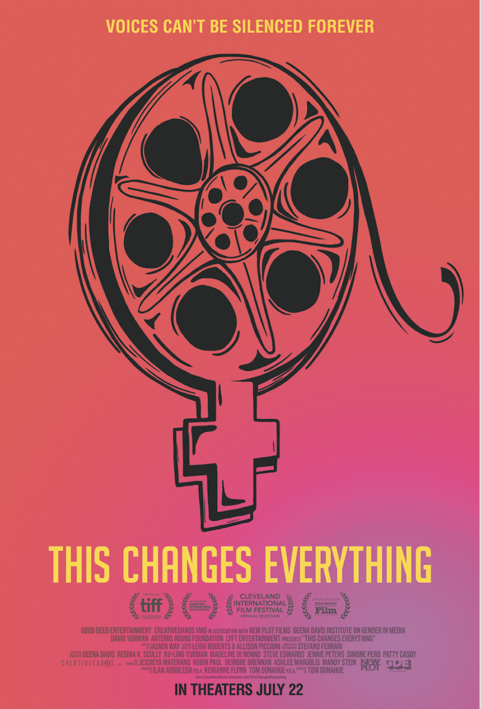 This Changes Everything   (2019) dir. Tom Donahue Rated: PG-13 image: ©2019  Good Deed Entertainment