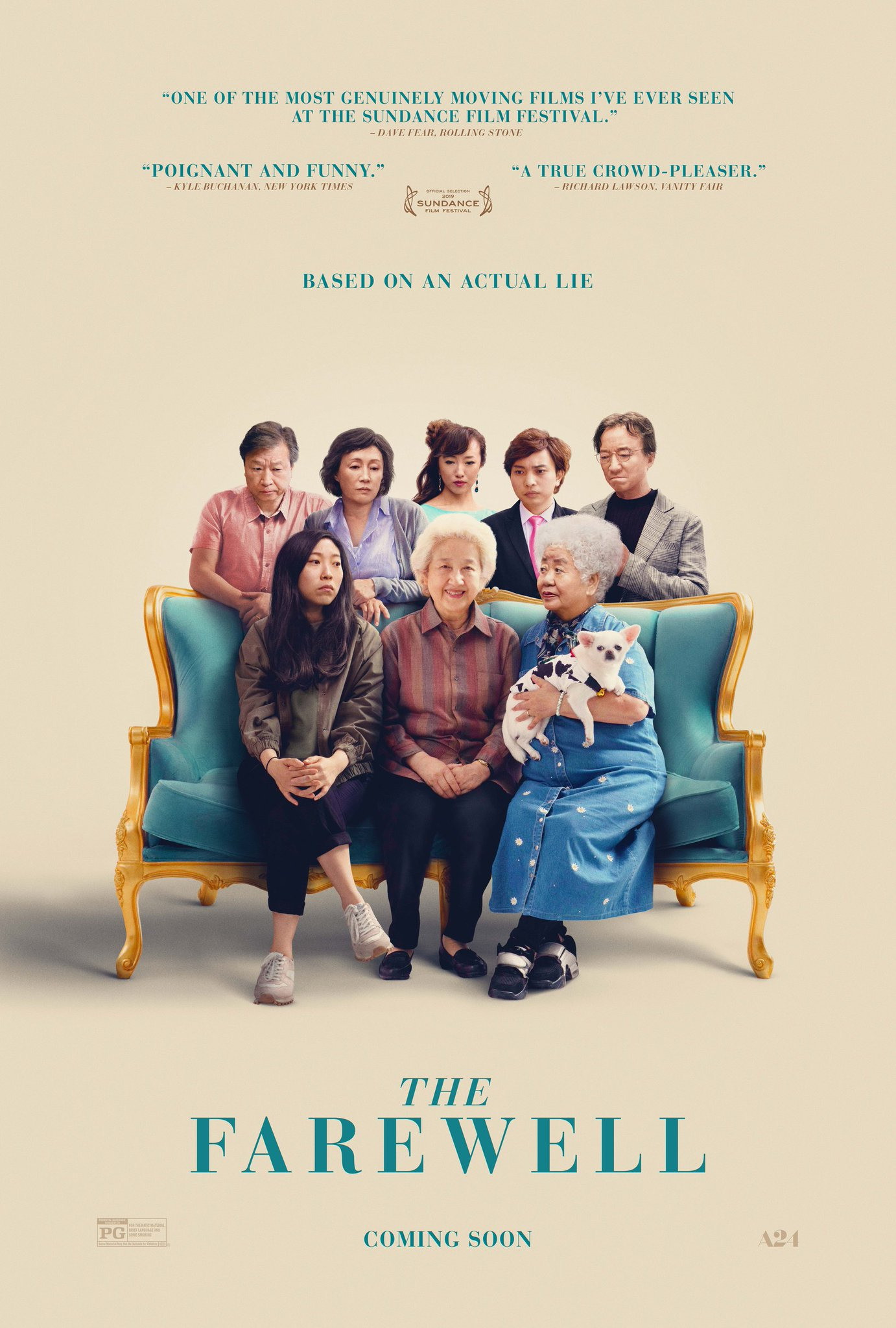 The Farewell   (2019) dir. Lulu Wang Rated: PG image: ©2019  A24