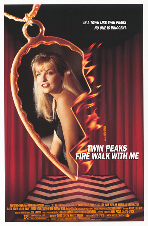 Twin Peaks: Fire Walk with Me   (1992) dir. David Lynch Rated: R image: ©1992  New Line Cinema