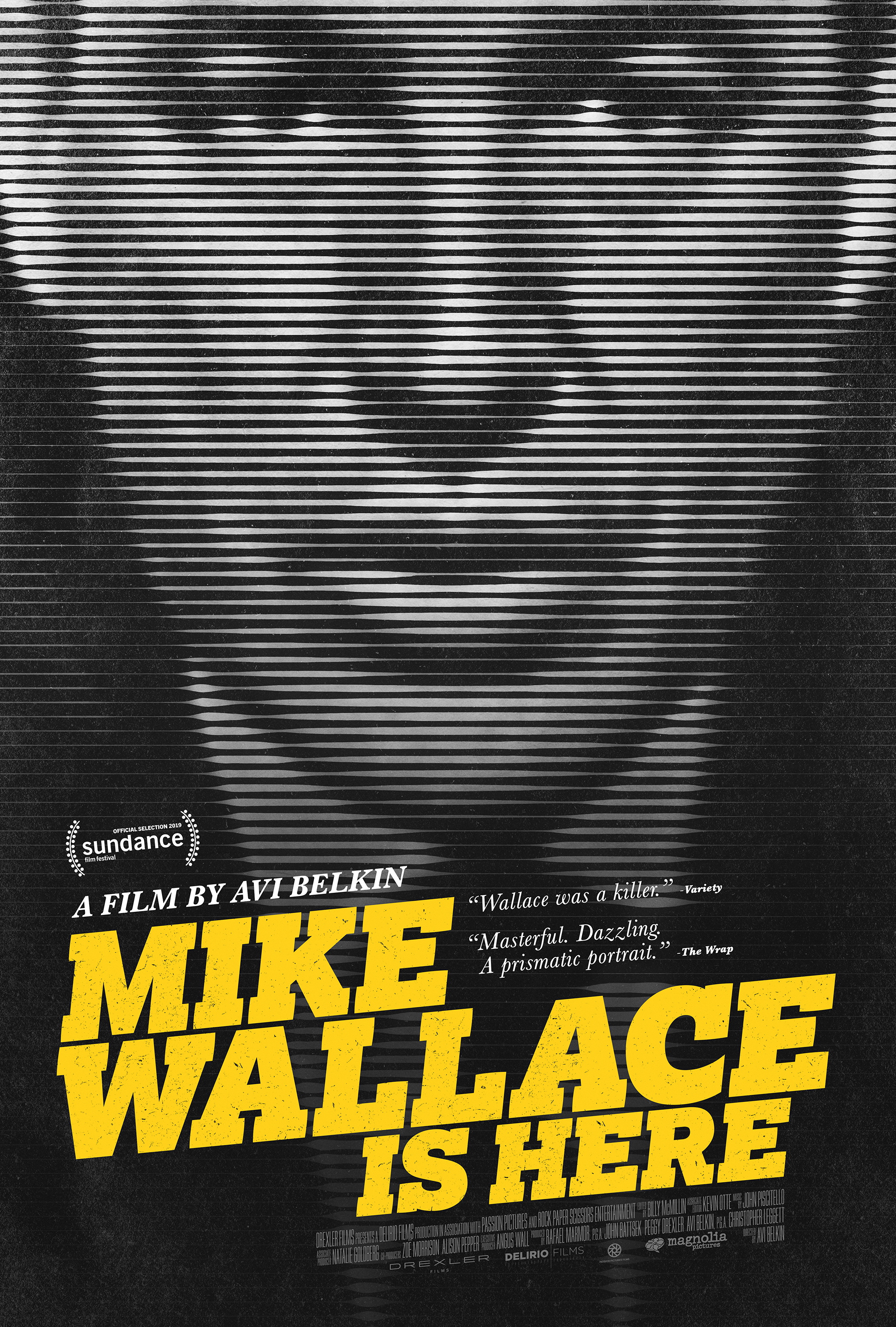 Mike Wallace Is Here   (2019) dir. Avi Belkin Rated: PG-13 image: ©2019  Magnolia Pictures