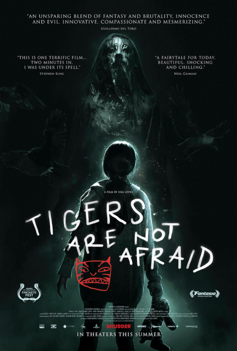Tigers Are Not Afraid (Vuelven)   (2019) dir. Issa López Rated: N/A image: ©2019  Shudder