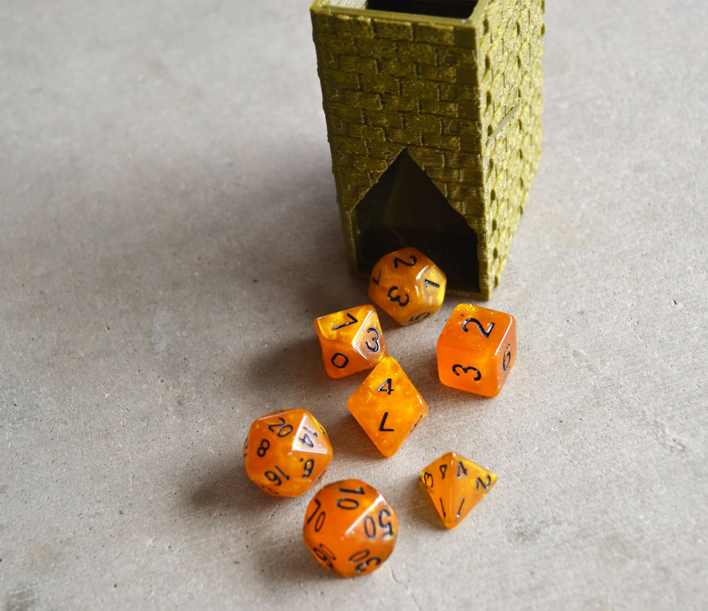 3D Dice Towers & Accessories -