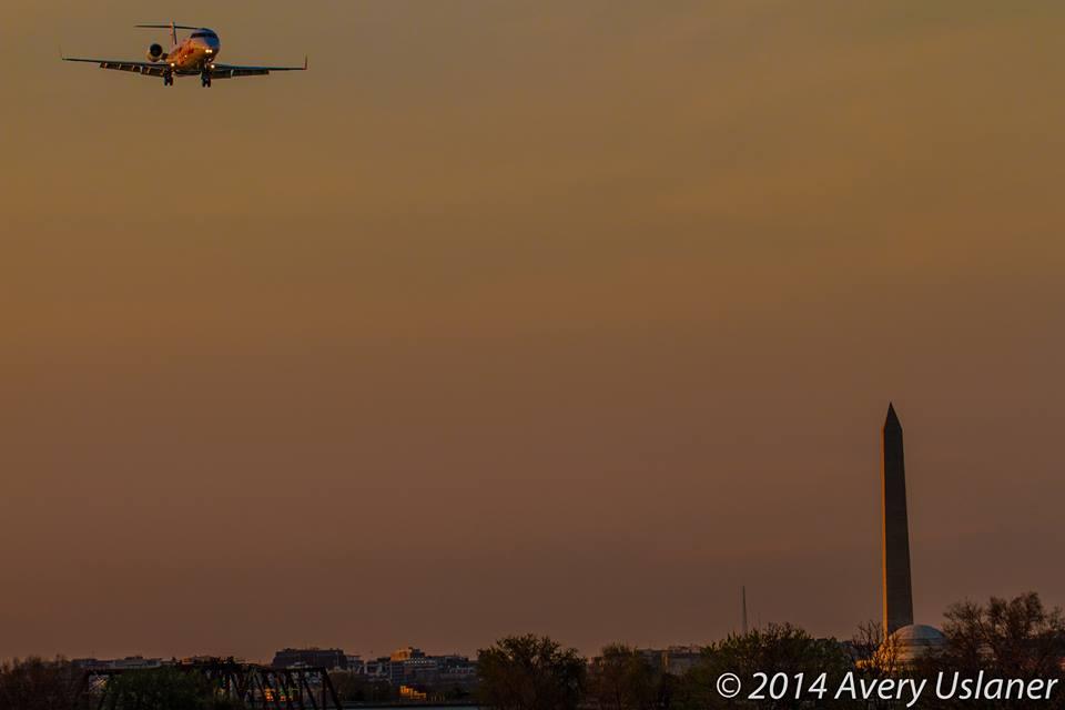 Landing at Reagan National
