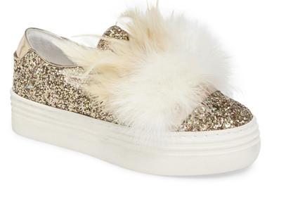 Here / Now Michelle Feather Slip-On Sneaker (Women)   ON SALE $79.97  $250.00