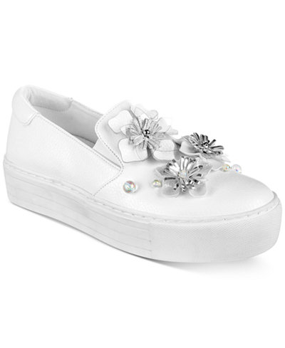 REACTION KENNETH COLE Cheer Floral Platform Sneaker   ON SALE $39.00  79.00