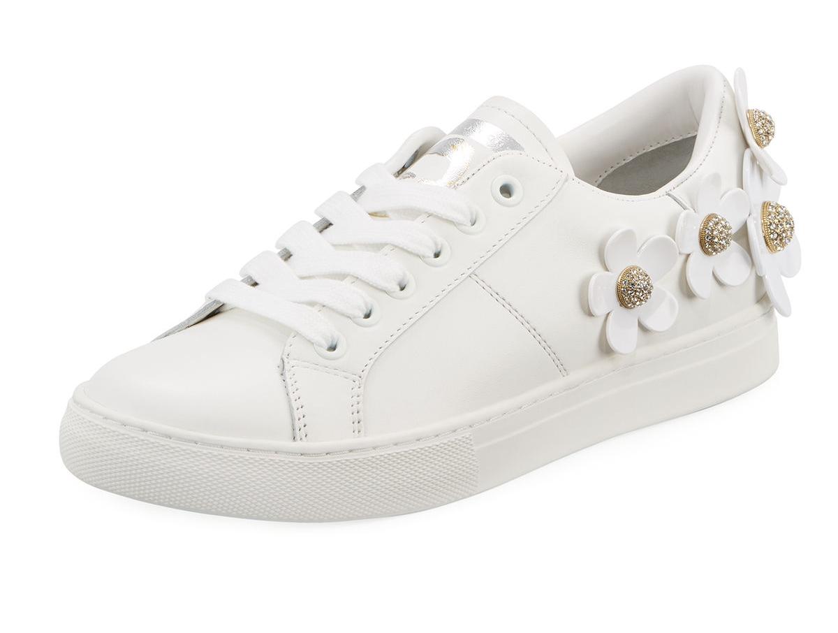 Marc Jacobs Daisy Leather Platform Sneaker    $250.00