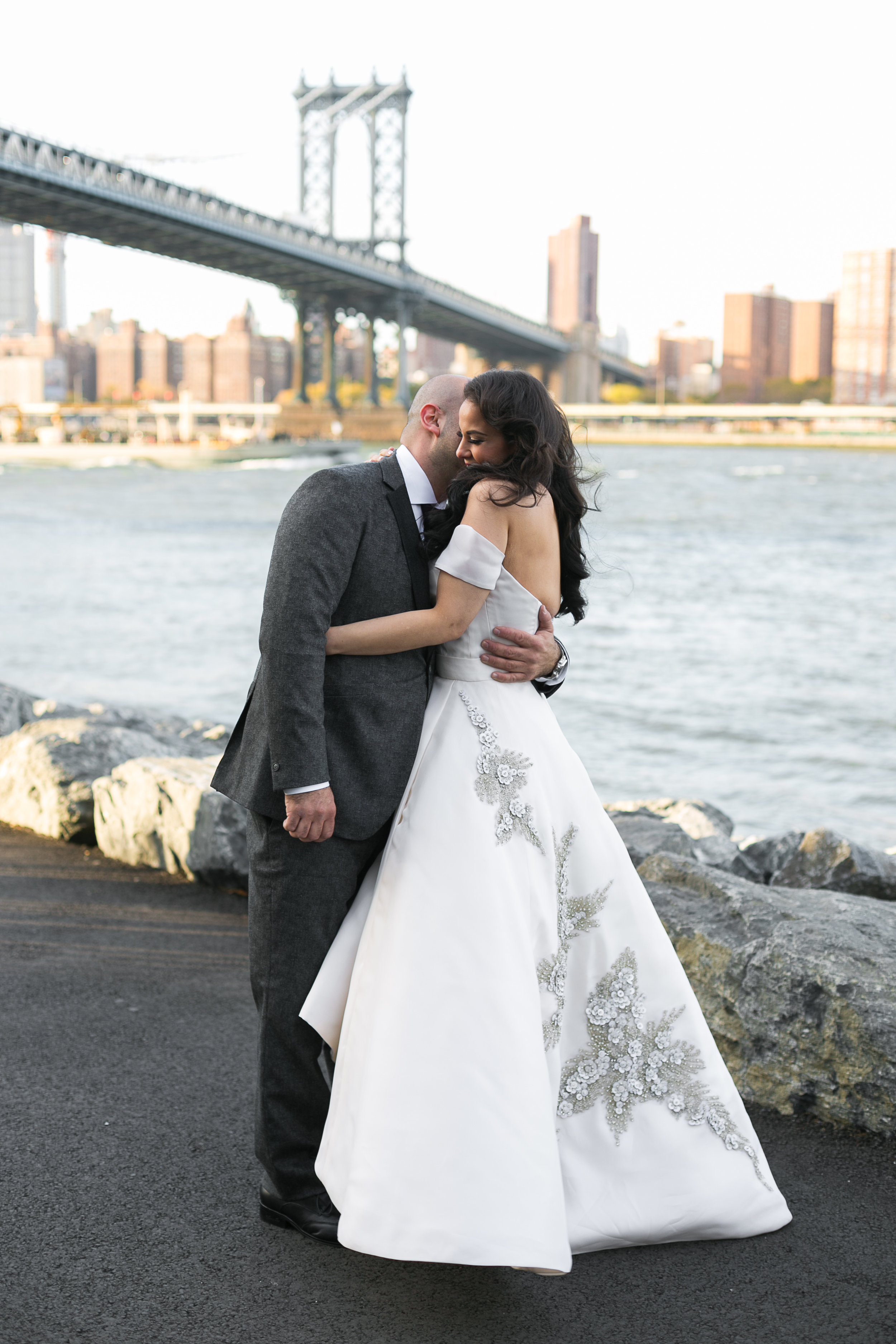 Hannah & Baruch: a Brooklyn fairy tale - …Many hours of embroidery and what had seemed like a thousand yards of ruched tulle later the final product was ready. After the wedding Hannah told me she felt like a princess…