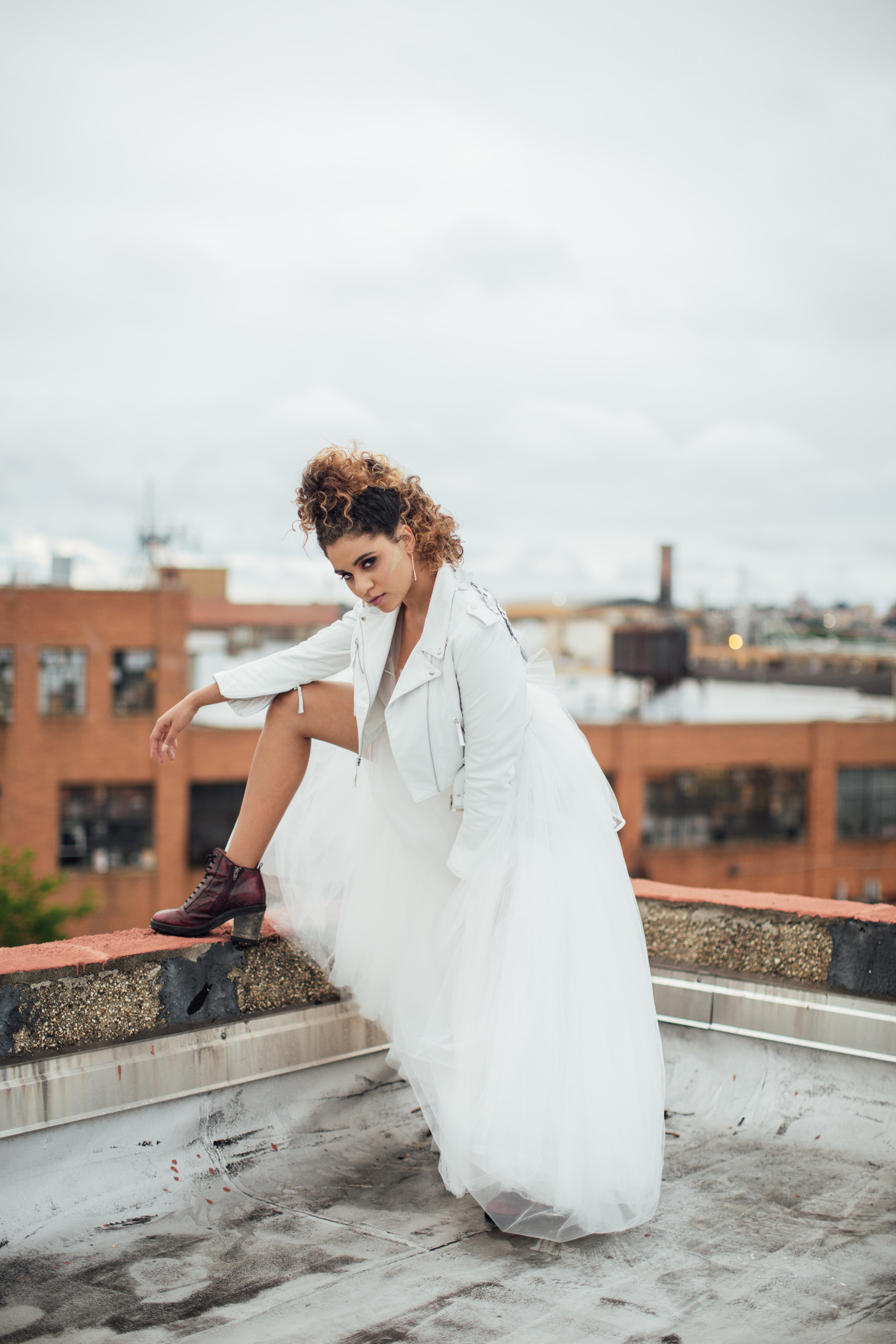 nk bride in brooklyn… - view this look