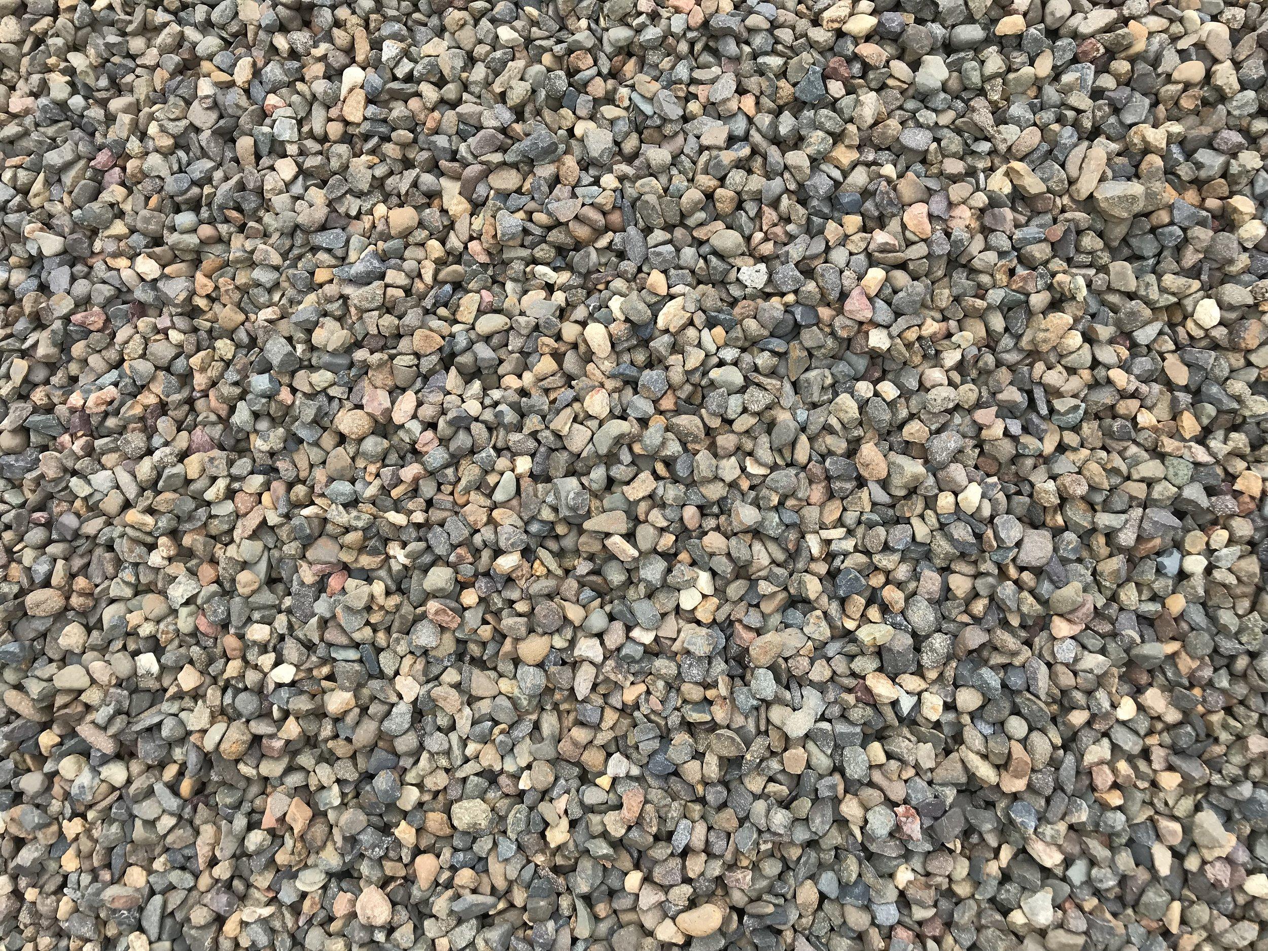decorative gravel brown 20mm