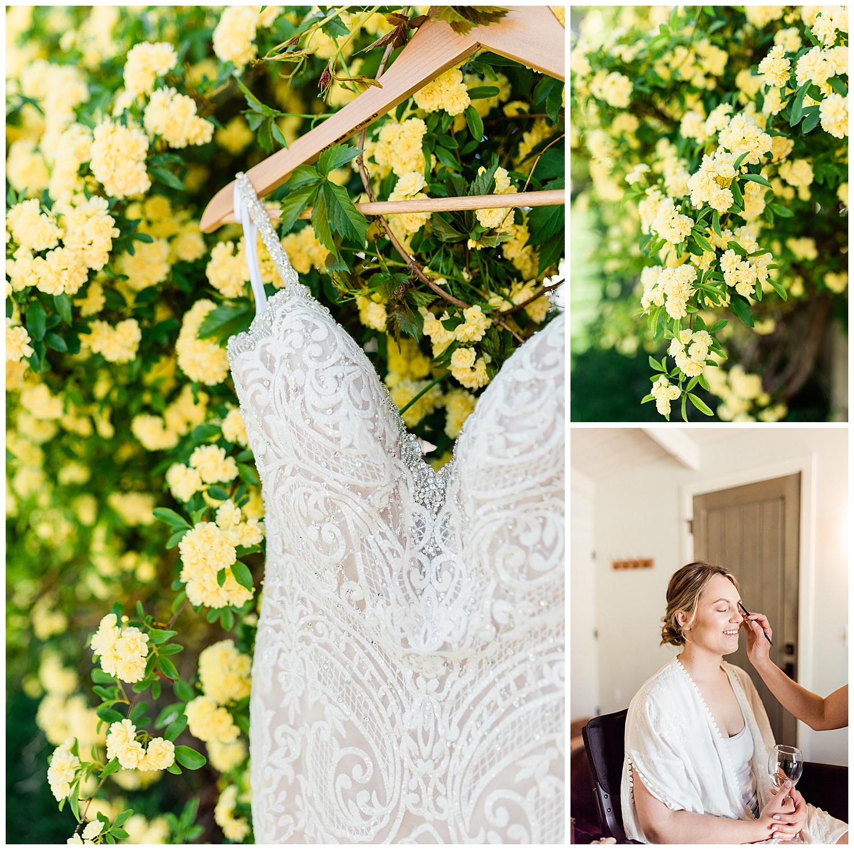Wedding Dress. Los Poblanos Wedding.New Mexico Wedding Venue. Albuquerque wedding photographer. New Mexico Wedding Photographer  Los Poblanos Venue. Los Poblanos Weddings