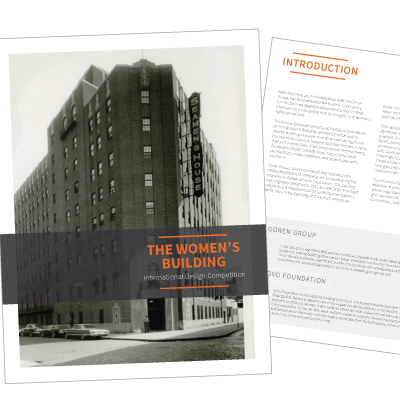 The Women's Building Design Competition