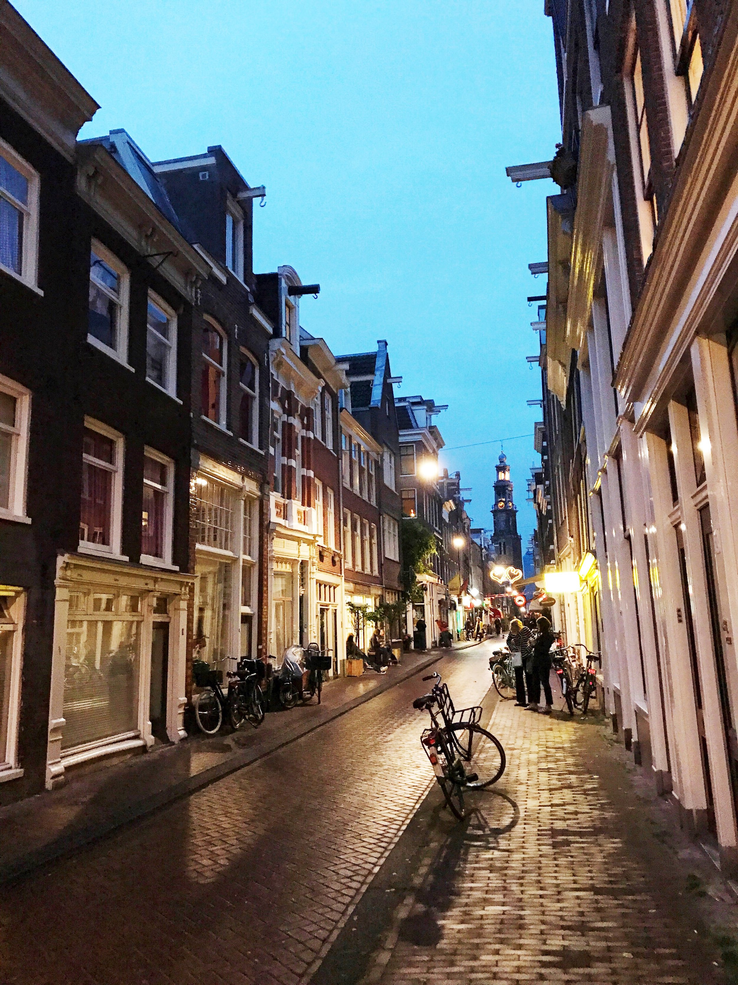 Jordaan at Night Amsterdam