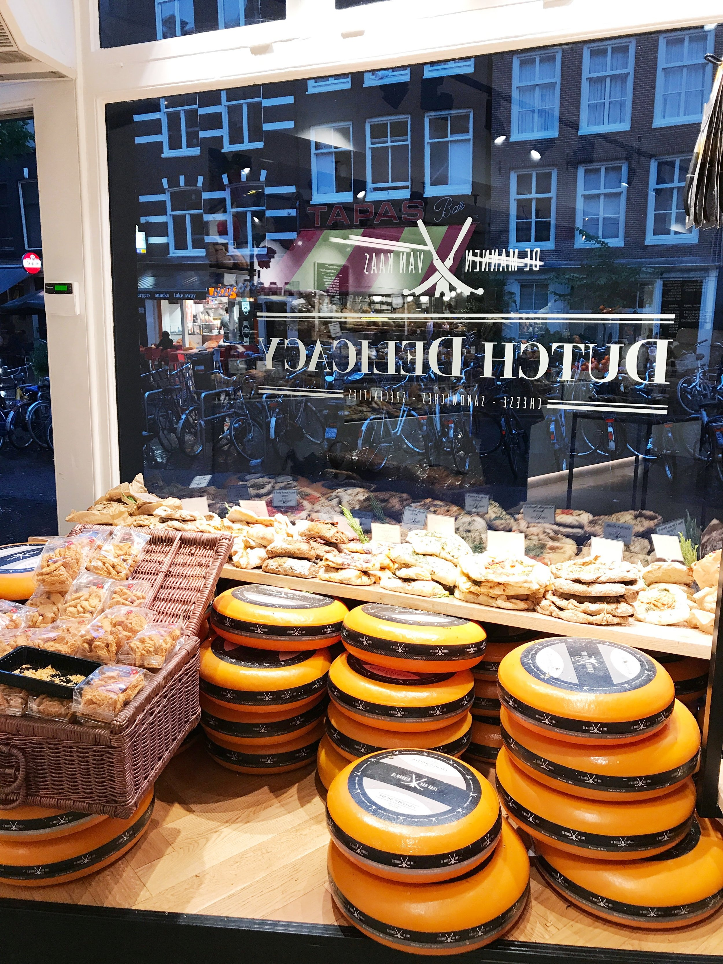 Dutch Delicacy Cheese Amsterdam